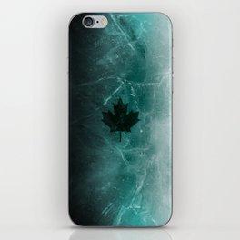 Black ice v1 iPhone Skin