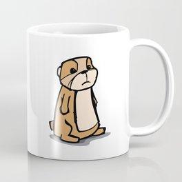 Pensive Gopher Coffee Mug
