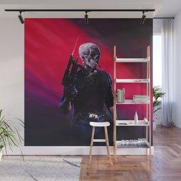 Cobra Skeleton Wall Mural