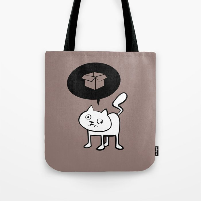 minima - derpicat | box Tote Bag