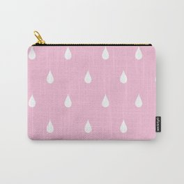 Rain drops through pink glasses Carry-All Pouch