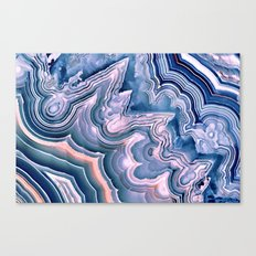 Agate ornaments Canvas Print