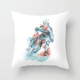 caferacer Throw Pillow