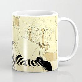 Ye Olde Striptease Illustrated: Merlin Coffee Mug