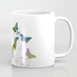 Ferret and butterflies Coffee Mug
