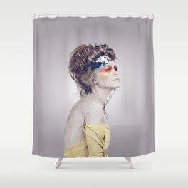 Weitblick Shower Curtain