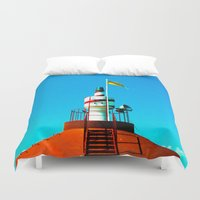 lighthouse Duvet Covers featuring Lighthouse by EPART