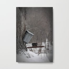 Sugaring 3 - Maple Syrup Metal Print