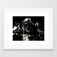 fallout Framed Art Prints featuring Fallout by Adam Newacheck