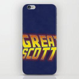 Great Scott iPhone Skin