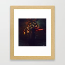 Hand of Sorrow Framed Art Print