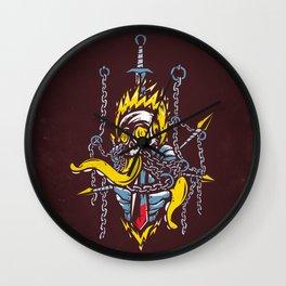 Cursed Knight Wall Clock
