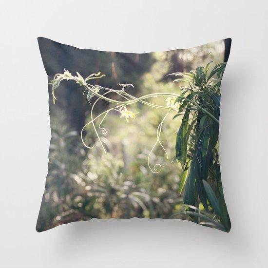 Urban Jungle Throw Pillow