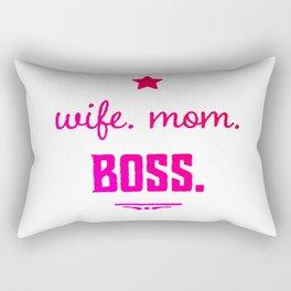 Wife Boss Rectangular Pillow