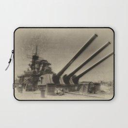 USS Iowa Laptop Sleeve