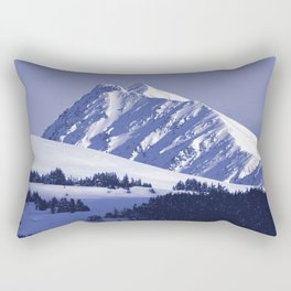 Back-Country Skiing - 8 Rectangular Pillow