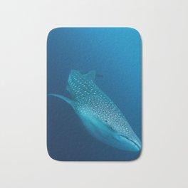 Whale shark stare Bath Mat