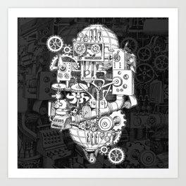 Hungry Gears Art Print