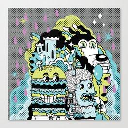 Magic Friends Canvas Print