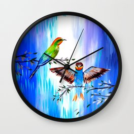 Our Love Story Wall Clock