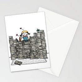 """Book Lover"" Stationery Cards"