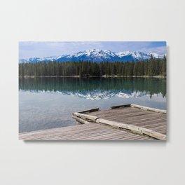 Dock on Edith Metal Print