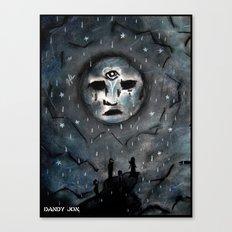 Sad Dream World Canvas Print