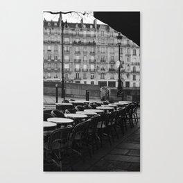 Cafe Tableau Canvas Print