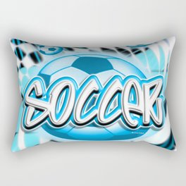 Soccer 1 Rectangular Pillow