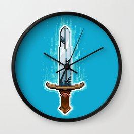 Pxl_Sword Wall Clock