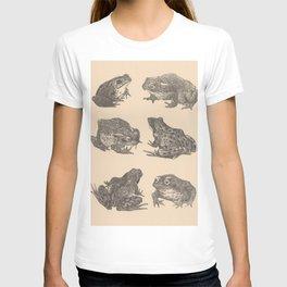 Naturalist Frogs T-shirt