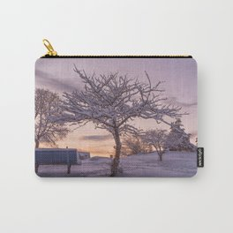 Winter Sunset #2 Carry-All Pouch