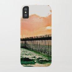Hermosa Pier (1) iPhone X Slim Case