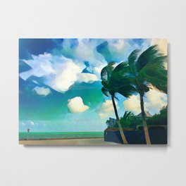 Key Breeze Metal Print