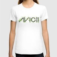 deadmau5 T-shirts featuring Grunge Avacii  by Sitchko Igor