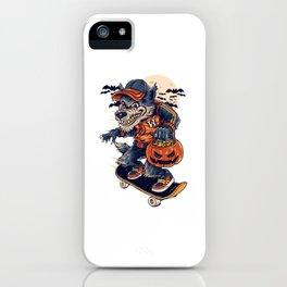 Warewolf Halloweeen iPhone Case