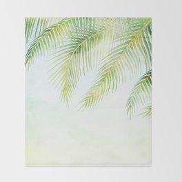 Tropical Vibe 3 Throw Blanket