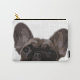 Peepers the French Bulldog Carry-All Pouch