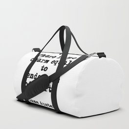 Tenderness of heart - Jane Austen Duffle Bag