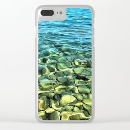 The Seashore Clear iPhone Case