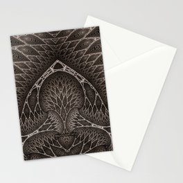 acid.ducks.4c Stationery Cards