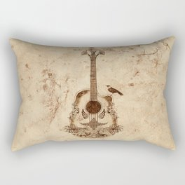 The Guitar's Song Rectangular Pillow