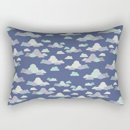 Clouds - Dream Big and Aim High Rectangular Pillow