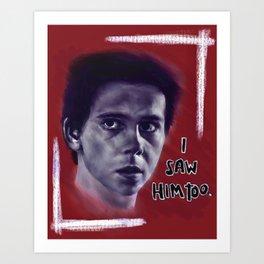 Eddie Kaspbrak Art Print