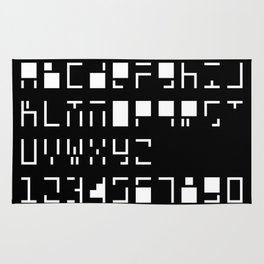 Alphanumerique Rug