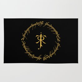 One Ring To Rule Them Rug