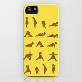 Yoga Bear - Classic iPhone Case