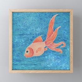 Goldfish 2 Framed Mini Art Print