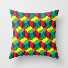 Construct (colour) Throw Pillow
