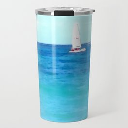 Summer Sailboating | Nadia Bonello Travel Mug